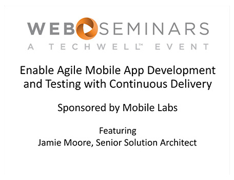 Make Continuous Delivery for Mobile Applications a Reality