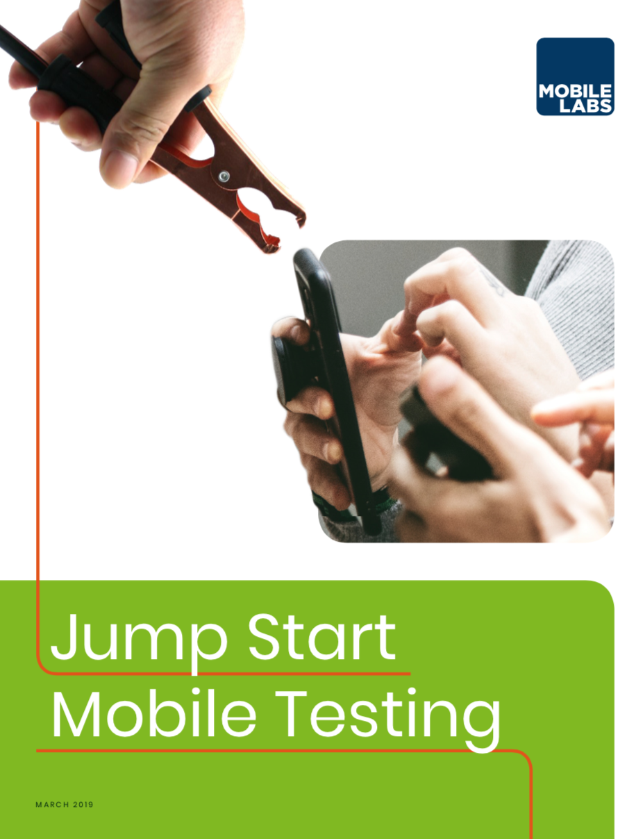 Jump Start a Mobile Testing Lab